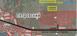 план петровка